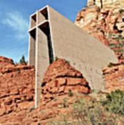 Sedona - The Chapel Of The Holy Cross Poster