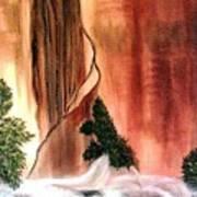 Sedona's Waterfall Poster