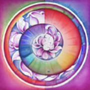 Seed Of Life - Mandala Of Divine Creation Poster