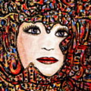 Self-portrait-6 Poster