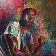 Self Portrait In Progress Poster