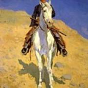 Self Portrait On A Horse 1890 Poster