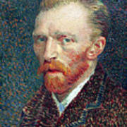 Self Portrait Vincent Van Gogh Poster