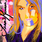Self Portraiture Digital Art Photography Poster