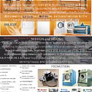 Self Serivce Laundary Machine Subhang Jaya Poster