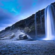 Seljalandsfoss Iceland Poster