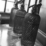 Seltzer Bottles Poster