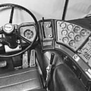 Semi-trailer Cab Interior Poster