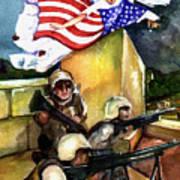 Semper Fideles -  Iraq Poster