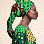 Senegalese Woman Poster