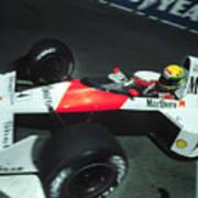 Senna Into 9 Poster