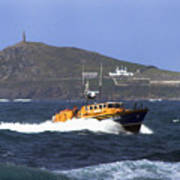 Sennen Cove Lifeboat Poster