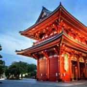Sensoji Temple Poster