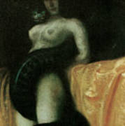 Sensuality Poster by Franz Von Stuck