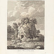 Sepolcro A Falerium Citt? Etrusca Ditrutta Poster