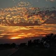 Sept Sunset Poster