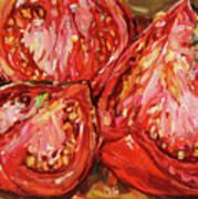 September Tomatoes Poster