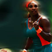 Serena Getting It Done Poster