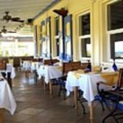 Serendipity Restaurant St Kitts Poster