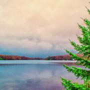 Serene Lake Harmony Poster