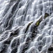 Serene Waterfall Poster