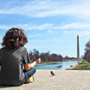 Serenity On The National Mall Poster