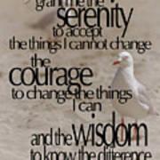 Serenity Prayer 01 Poster