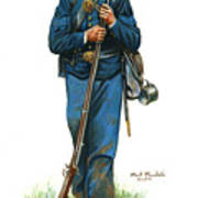 Sergeant - 20th New York State Militia 1862-1863 Poster