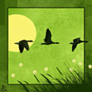 Series Four Seasons 1 Spring Poster