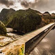 Serpentine River Crossing Poster