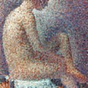 Seurat: Model, 1887 Poster