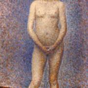 Seurat: Model, C1887 Poster