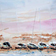 Seven Little Boats Poster