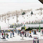 Seven Springs Stowe Slope Poster