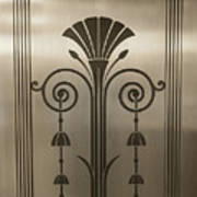 Severance Hall Art Deco Door Detail Poster
