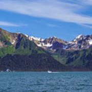 Seward Mountains Poster