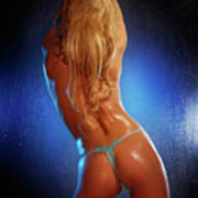 Sexy Young Woman Back Poster