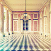 Shabby Chic Versailles Columns Of Grand Trianon Poster