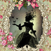 Shabby Fae Silhouette Freedom Poster