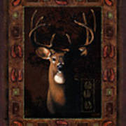 Shadow Deer Poster
