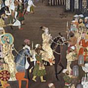 Shah Jahan (1592-1666) Poster