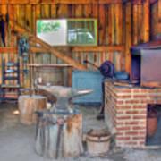Shaker Blacksmith Barn Poster