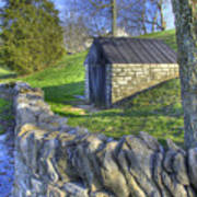 Shaker Stone Fence 6 Poster