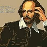 Shakespeare Quote Ten Poster