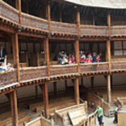 Shakespeare's Globe Theater C378 Poster