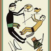 Shaman Hunting Ritual Dream Poster