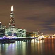 Shard From Tower Bridge London Poster