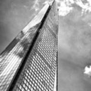 Shard, London In Black And White  Poster