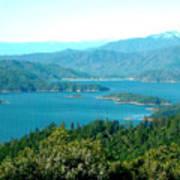 Shasta Lake Poster