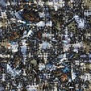 Shattered Patterns Poster